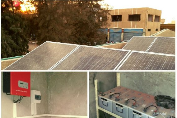 Project 9 (2 stations) - Total Size: 3KW PV + 3KW no PV - Type: Off Grid - Location: New Cairo + Heliopolis