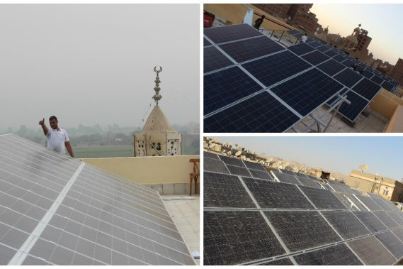 Project 3 (3 Stations) - Total Size : 67.5KWp - Location : Minya Governorate