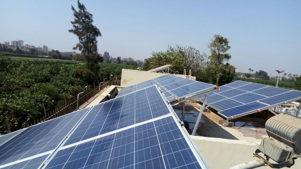 Project 8 - Size: 10KWp - Type: Self Consumption - Location: Toukh