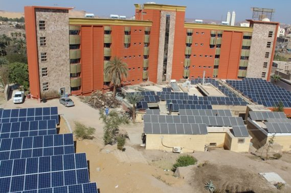 Project 1 - Size: 100KWp - Type : On Grid