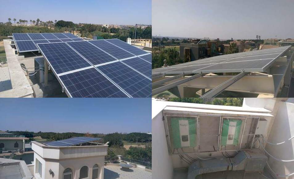 Projects 25 to 40: Residential Projects - Size: Between 5KWp to 16KWp